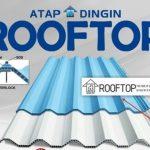 Distributor Atap dingin Rooftop Anti UV Dan Menyerap panas