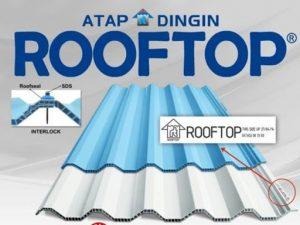 Atap Dingin Merk Rooftop Pemeter Murah Jenis Doff Panjang Bisa Menyesuaikan Permintaan